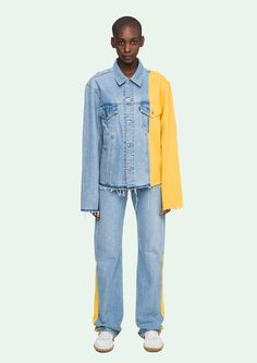OFF WHITE - Denim Jacket - OffWhite