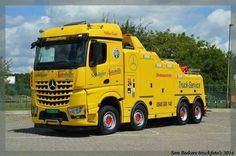 MB tow wrecker truck