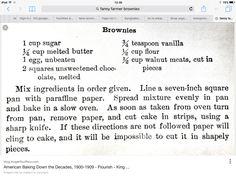 fannie farmer brownies