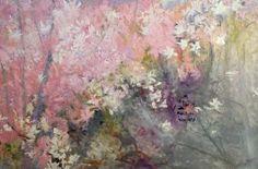 Azalea Blast III, 48  x  72, oil on canvas, 2013