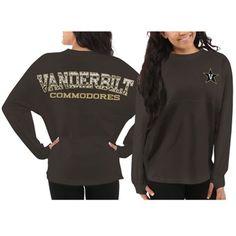 Vanderbilt Commodores Women's Aztec Sweeper Long Sleeve Top – Gray