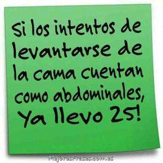 Abdominales!!:-D