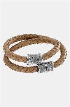 Michael Kors Double Wrap Braided Bracelet | Nordstrom