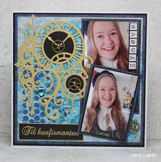Lenas kort: Konfirmanten Synøve Doodles, Frame, Blog, Cards, Home Decor, Picture Frame, Decoration Home, Room Decor, Blogging