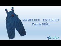 Tutorial Body Bebé Crochet o Ganchillo Tunecino Punto Jersey - YouTube