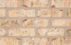 Nottingham Tudor - General Shale - interior fireplaces (with white grout) Brown Brick, Thin Brick, Grey Brick, Brick And Stone, Paint Fireplace, Brick Fireplace, Brick Walls, Brick Masonry, Building Stone