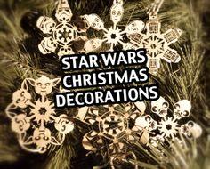Star Wars Christmas Tree Decorations, £8.00