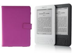 DermaPad Kindle Leather Cover, Pink Fits 6 - Inch Display, Latest Generation Kindle - 3rd Generation by DermaPad. $9.95. Made for Amazon Kindle eReader - Latest Generation Kindle - Kindle 3 . Made Of Fine Workmanship and High Quality 100% Real Leather. Slots for Business Cards & Papers. Magnetic Closure System. The perfect case for yourAmazon Kindle eReader - Latest Generation Kindle - Kindle 3