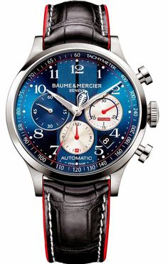 Master Horologer: Baume & Mercier Capeland Shelby® Cobra Collection
