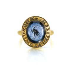 English, circa 1300                                SIGNET RING