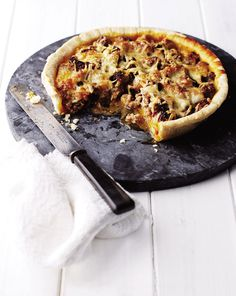 Sunday morning brunch just got a bit more sophisticated with this quick sausage and sun-dried tomato tart recipe.