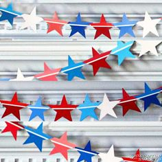 SweeterThanSweets: A Star-Spangled (Paint Chip) Banner - Tutorial