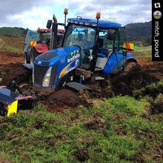 #Repost @mitch_pound with @repostapp.  @mitch_pound right into some deep cultivation in the South Waikato #Nzfarming by _nzfarming