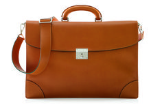 Valextra 3 Gusset briefcase from Men's Bags September 2014