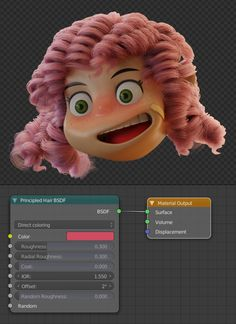 This tutorial explains how to work with Blender and Substance Painter this project is based on a concept of Anais Maamar Blender 3d, Blender Hair, Blender Models, Character Creation, 3d Character, Cinema 4d, Zbrush, 3d Modellierung, Maya