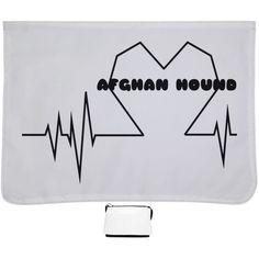 Afghan Hound Heartbeat Shoulder Bags