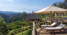 Exploreans Ngorongoro Lodge Tansania  - nach der Safari auf der Veranda sonnen - was kann man sich mehr wünschen?