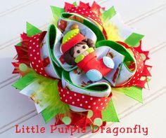 Elf In Stocking Christmas Boutique Custom by LittlePurpleDragonfl, $14.99