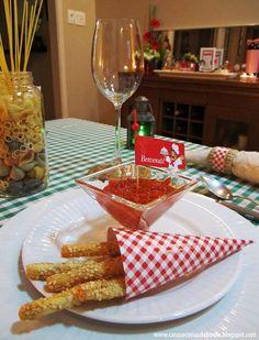 Casos e Coisas da Bonfa: O jantar italiano e uma surpresa no final do post!