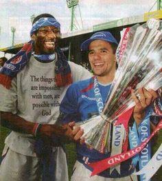 Marvin Andrews and Nacho Novo