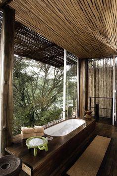 Salle de bain rustique: un décor relaxant et chaleureux                                                                                                                                                                                 Plus