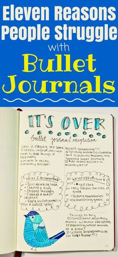 Stop struggling with your bullet journal and learn the most common problems people have with bullet journals. Then learn how to fix them!