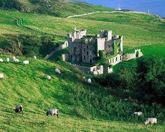 Ireland medieval castle