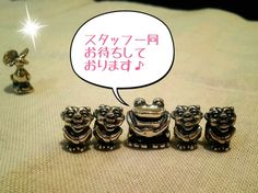 新潟伊勢丹店の画像   TROLLBEADS SHOPのブログ I have no idea what this says but it is SO CUTE!