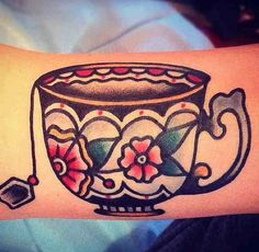 teacup tattoo. my inner granny says YES