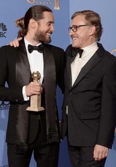 Jared Leto and Christoph Waltz. does anyone doubt that 2014 is Jared's year?