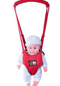 Pink R SODIAL Baby Child Toddler Safety Easy Wash Harness /& Step Walking Assistant Reins