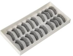 10 pair eyelashes or