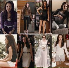 Difference of Bella Through Breaking Dawn
