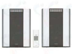 Friedland Wireless Libra+ 200 metre Twin Portable Chime Kit (D914TW)  The Friedland D914 Libra+ Wireless Twin Door Bell Chime Kit (D914TW) includes two portable Door Chimes with strobes giving visual indication of activation and can be used throughout the home or garden. The wireless Door Chimes give a choice of 6 CD quality Door Bell Chime sounds, 6 Visual Icons and 3 Alert sounds. Complete with 2 year warranty. Operating frequency: 868MHz. Operating range up to 200 metres.