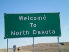 North dakota road map festival logo