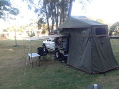 Roof Top Tents and Extension-DeluxeTourerStargazerAnnex-HowlingMoon & 4x4 Awnings. | 4x4 Car side and Land rovers