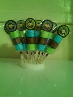 Brochetas de Mono (Baby Shower)