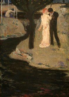 Jan Preisler Czech Symbolist painter ~ so Munch-like Modern Art, Fine Art, Painter, Western Art, Painting, Art, Alfons Mucha, Z Arts, Symbolist