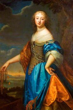 Portrait of a Lady  (said to be Jeanne de Marigny) by Henri Beaubrun the younger and Charles Beaubrun (attributed to) Victoria and Albert Museum  Date painted: c.1650–1660