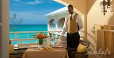 Butler Services - Pampered Vacation. Sandals Carlyle Resort Montego Bay, Jamaica. |  www.thetravelchick.ca