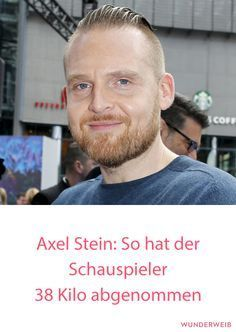 Axel Stein: So hat er 38 Kilo abgenommen #diät #abnehmen #fitness