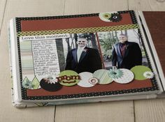 Enchanted Power Palette Prom Scrapbook Layout