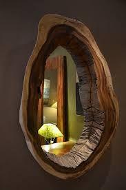 live edge mirror idea