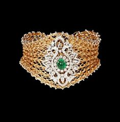 PANACHE - A BEAUTY, FASHION, CELEBRITY, LIFESTYLE  JEWELLERY BLOG: SPARKLING DIAMOND BRACELET BY GEHNA JEWELLERS !!!