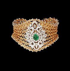 PANACHE - A BEAUTY, FASHION, CELEBRITY, LIFESTYLE  JEWELLERY BLOG: SPARKLING DIAMOND BRACELET BY GEHNA JEWELLERS !!!