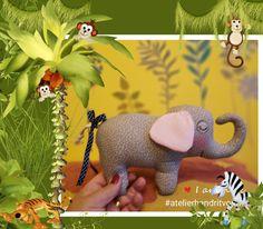 Dinosaur Stuffed Animal, Elephant, Toys, Animals, Activity Toys, Animales, Animaux, Clearance Toys, Elephants