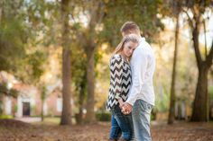 Intimate engagement in a park Photo By Eternal Light Photography