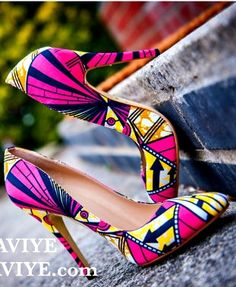 Kente shoes - orange & green African shoes, African print shoes, ankara shoes, african print heels, african ankara women's cute, kente. Ankara | Dutch wax | Kente | Kitenge | Dashiki | African print dress | African fashion | African women dresses | Africa