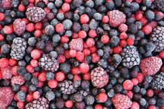 Close up of frozen mixed fruit - berries - red currant, cranberry, raspberry, b ~ Premium Photo Different Kinds Of Fruits, Different Recipes, Frozen Fruit, Frozen Meals, Mixed Fruit, Mixed Berries, Fruit Smoothies, Food Industry, Fruits And Veggies