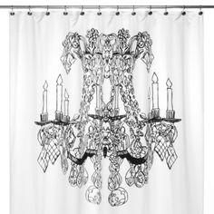 Chandelier 72-Inch x 72-Inch Shower Curtain - BedBathandBeyond.com